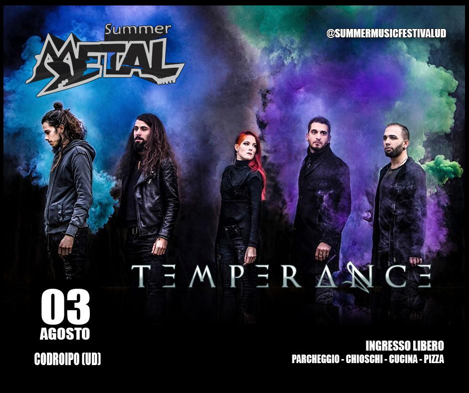 temperance at Summermetal 2019
